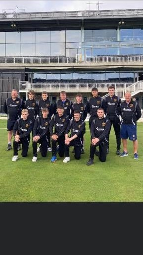 We're proud to be associated and support local cricket team